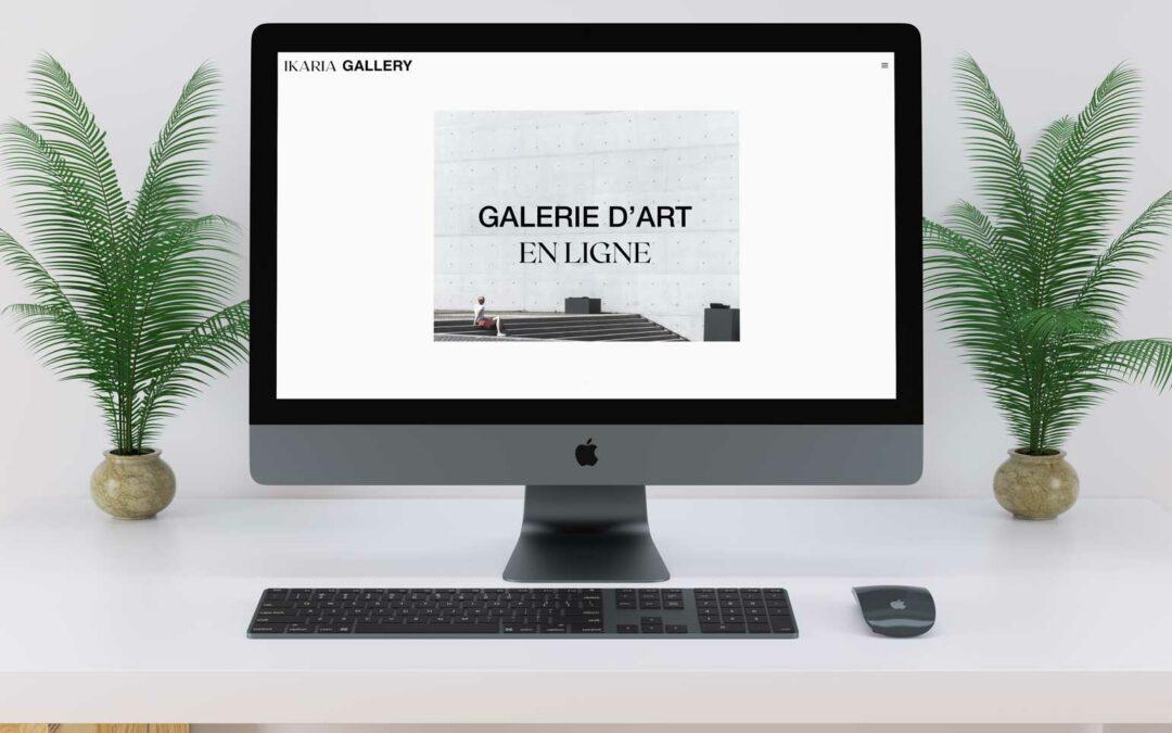 Ikaria Gallerie d'art en ligne